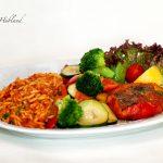 197 Paprika und Zucchini